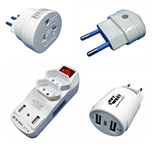 Plugs, Extension and Adapters