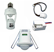 Socket and Photocell Presence Sensors