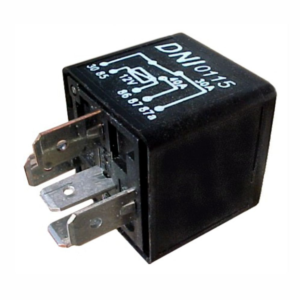 Dni0115 Reversing Auxiliary Relay 40 30a Electronic Injection Wiring Diagram Relays 12 Volt Also With Motor 12v
