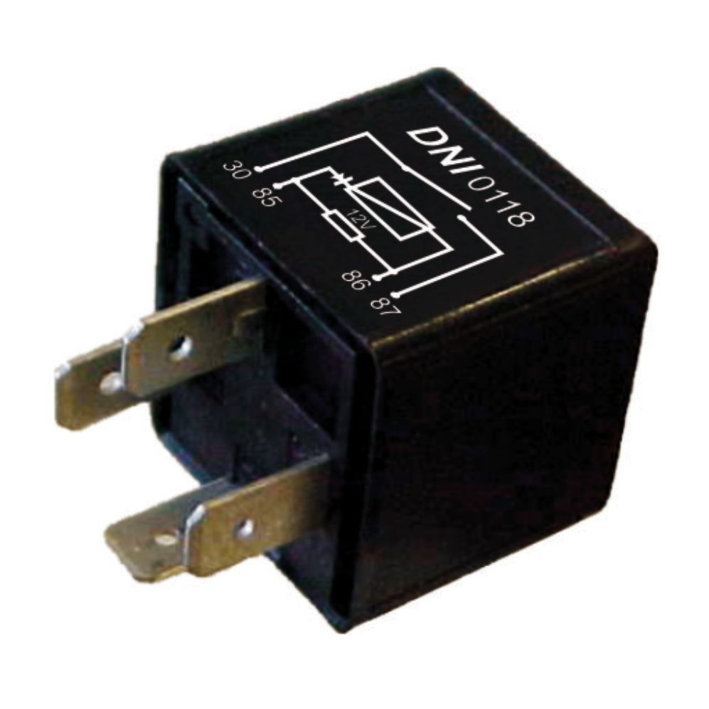 DNI0118 – Auxiliary Relay with Diode and Resistor VW / Ford – 12V