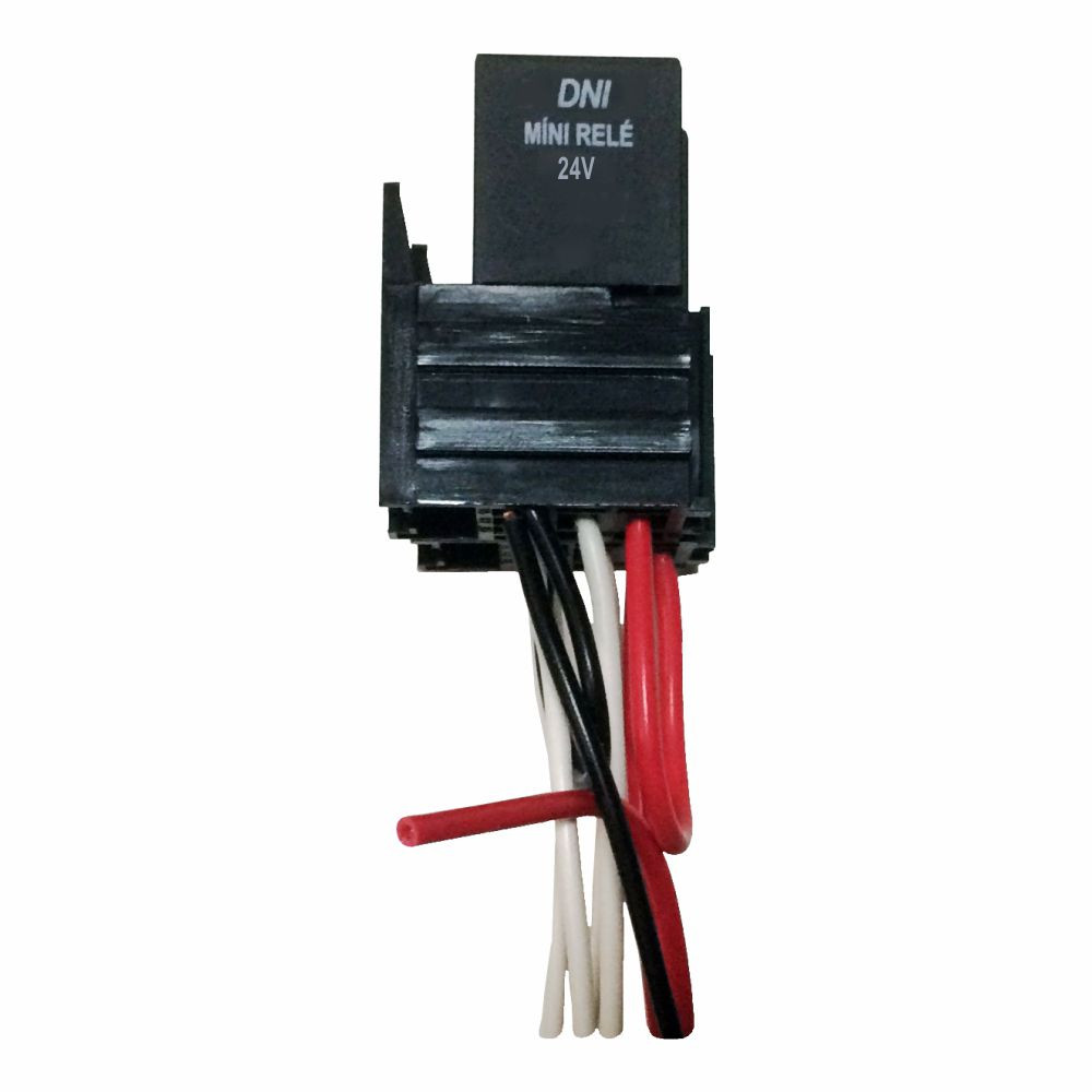 DNI7536 – Mini Relay Reverser with socket and Whipping 5 Terminals 40 / 30A – 24V