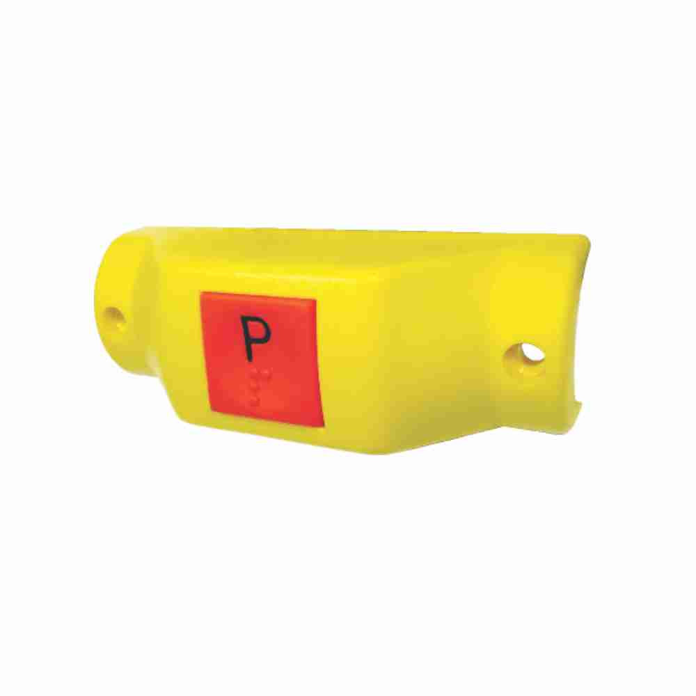 DNI8813 – Switch Stop Required to Bus Horizontal Recording for Column – Yellow – 12 / 24V