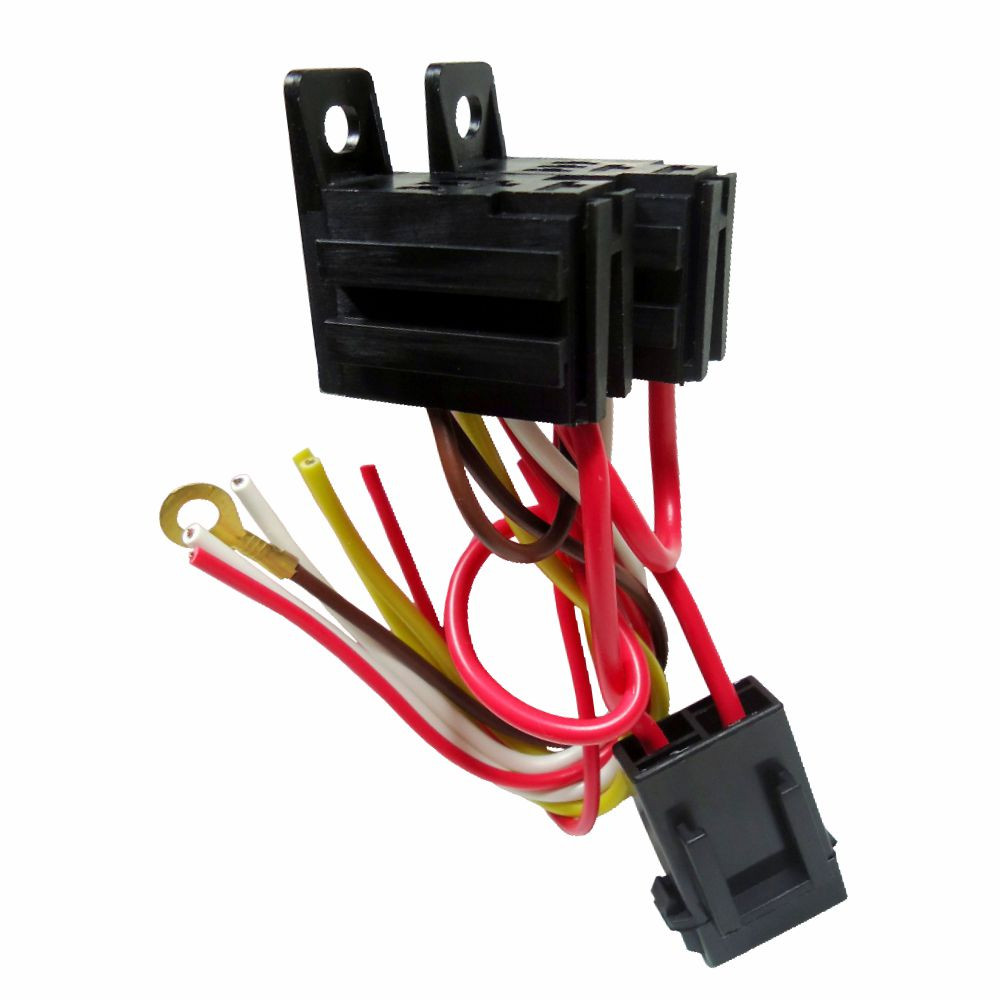 DNI7538 – Harness with Fuse and socket Double Mini Relay 5 Terminals – 12 / 24V