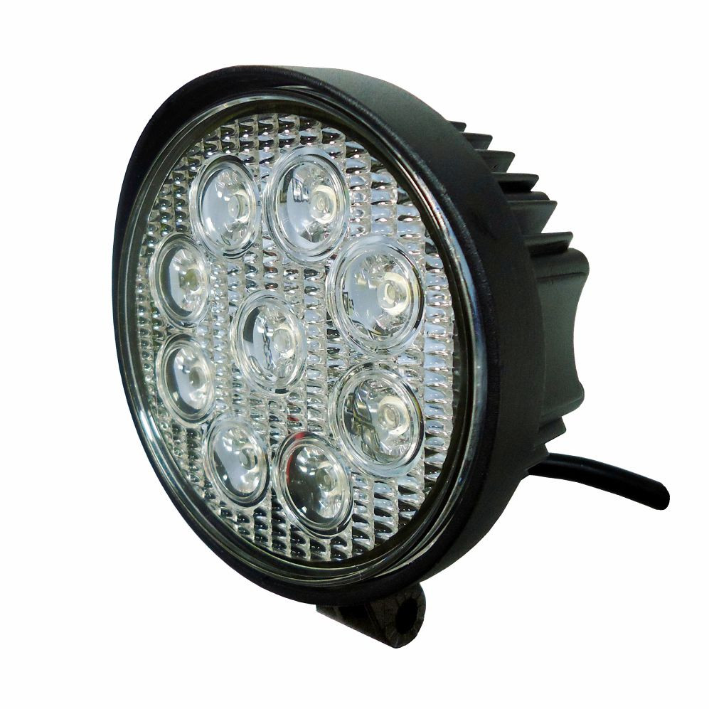 DNI4161 – Round Work Lighthouse with 27W LEDs – 9 to 48Vdc – Special for Tractors and Agricultural Machinery