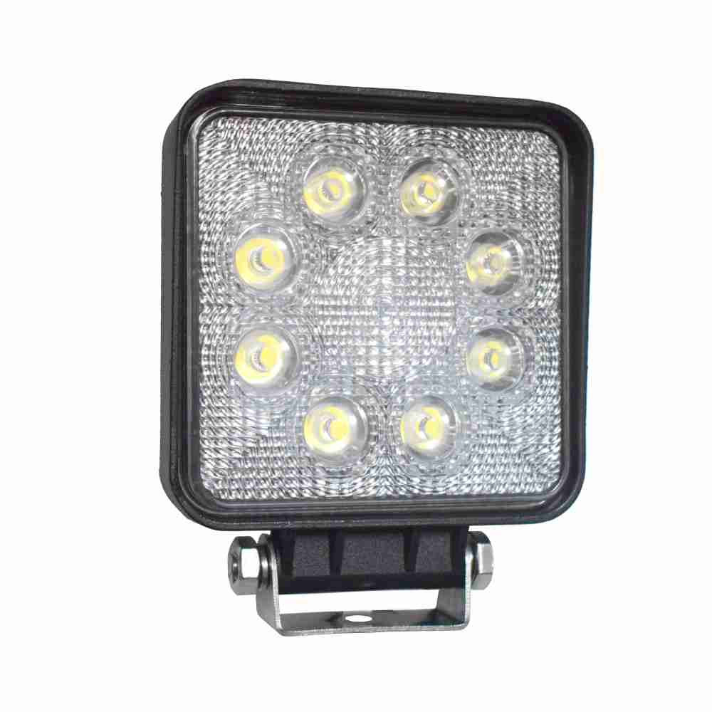 DNI4166 – Square Working Lamp with LEDs 24W – 9 to 48Vdc – Special for Tractors and Agricultural Machinery