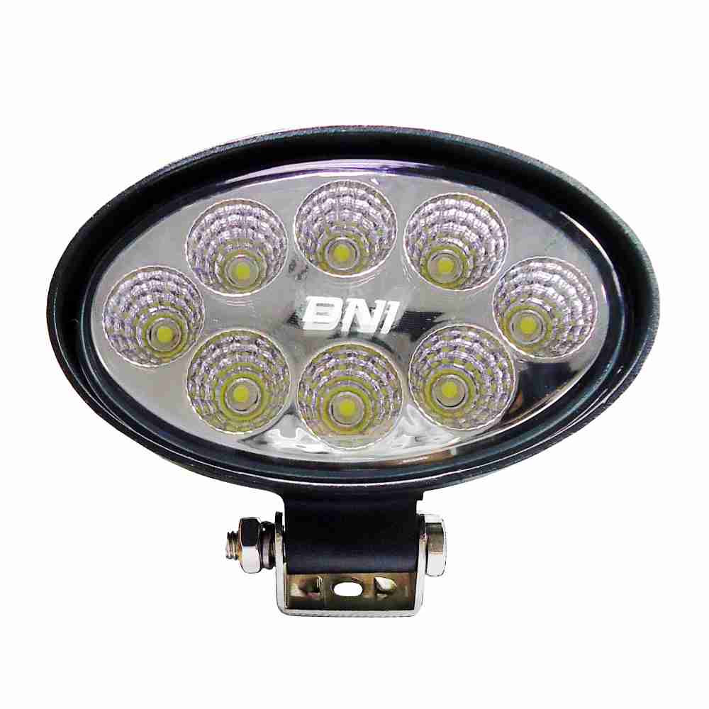 DNI4165 – Oval Work Light with LEDs 24W – 9 to 48Vdc – Special for Tractors and Agricultural Machines