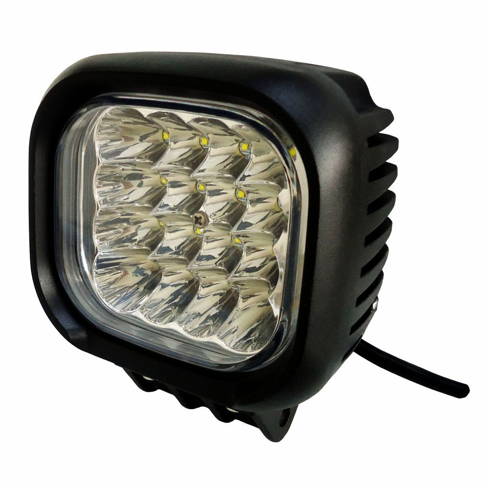 DNI4163 –  Rectangular Work headlight with LEDs 48W – 9 to 48Vdc – Special for Tractors and Agricultural Machinery