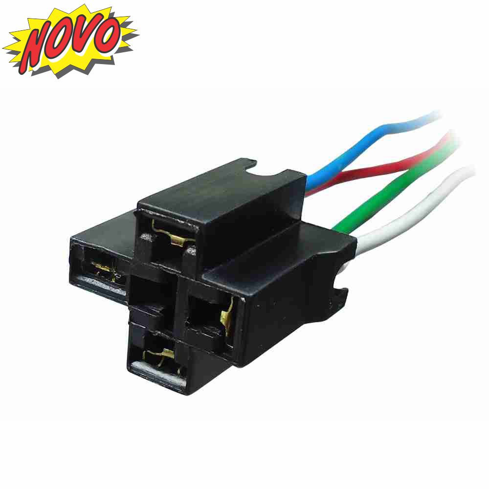 DNI7502 – Whip with Socket for Relay 4 Terminals