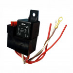DNI0110 - Relay socket, Whipping, Fuse, 4 Terminals - 40A - 12V