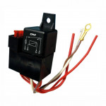 DNI0210 - Relay socket, Whipping, Fuse, 4 Terminals - 40A - 24V