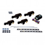 DNI 2023 - 12V LATCH KIT - 1 MASTER 3 SLAVES - FOR 4 DOORS / VEHICLES
