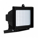 DNI6048 - Economic Reflector with 96 LEDs Bivolt 10W - Black