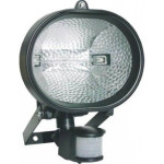 DNI6016 - Halogen reflector with Presence Sensor - Bivolt 127 / 220V - 150W - Black