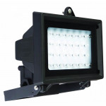 DNI6044 - Economic Reflector with 28 LEDs Bivolt 3W - Black