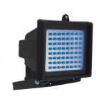 DNI6051 - Reflector with 60 LEDs Blue Bivolt 6W - Black