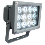 DNI6057 - floodlight spotlight 12W LED White Cold - Bivolt