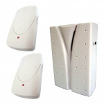 DNI 6395 - Electronic Doorbell with 2 paddles - Wireless