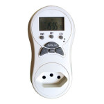 DNI6611 - Digital Timer Socket Bivolt - 127/220V