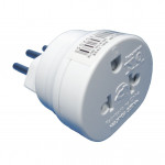 DNI 7020 - Universal Adapter 2 pin + earth