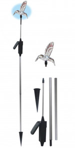DNI 6128 - Decorative Solar Lighting - Hummingbird