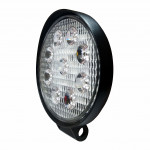 DNI4159 - Round Work Slim Light with LEDs 9W - 9 to 32Vdc - Special for Tractors and Agricultural Machines