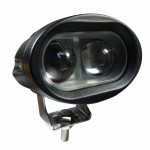 DNI4150 - 20W LED Forklift Safety Anti-Collision Safety Head - 10 to 80Vdc - Special for Tractors and Farm Machines