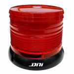 DNI4081 - Rotary flag and Flash Warning with LEDs Dual Voltage 12/24V - Red