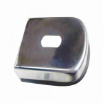 DNI8329 - Hitch cover Inox 85mm finish Rubber
