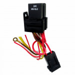 DNI7539 - 2 Mini Relays Thrust Reversers with Socket, Whipping, Fuse, 5 terminals - 40 / 30A - 12V