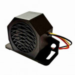 DNI3502 - Armored siren for forklift trucks Multiple voltages -  12 a 80V