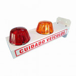 DNI6972 - LED Garage Warning Light Dual-voltage  - 127-220V