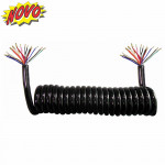 DNI8385 -  Electric Spiral whip for trucks 15 poles – 5,5m