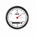 DNI4501-BR - Hourmeter Black and White Background With 52mm Bivolt Universal Lighting