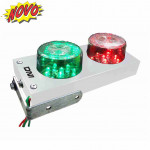 DNI6974 - Traffic Light Bivolt 127 / 220V Parking Indicator - White