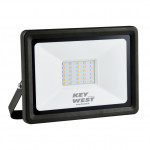 DNI6061 - floodlight spotlight 30W LED Slim White Hot - Bivolt