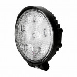 DNI4160 - Round Work Lighthouse with LEDs 18W - 9 to 48Vdc - Special for Tractors and Agricultural Machines
