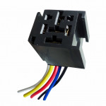 DNI7524 - Harness with Socket relays 5 Terminals 3 Terminals Wide - 12/24V