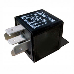 DNI0106 - Double N.A Auxiliary Relay 2x25A - 12V